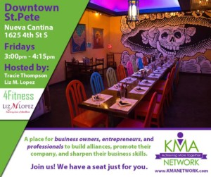 Downtown St. Pete - KMA Network Meeting @ Nueva Cantina | Saint Petersburg | Florida | United States