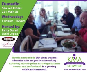 Dunedin- KMA Network Meeting @ Sea Sea Riders | Dunedin | Florida | United States