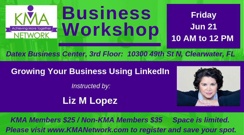 LinkedIn Workshop on June 21